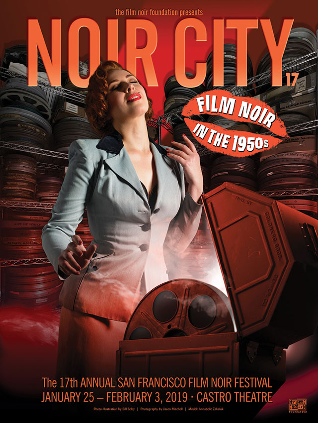 NOIR CITY 16 - January 26-February 4, 2018 - Castro Theatre