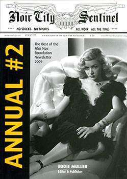 Noir City Sentinel Annual #2