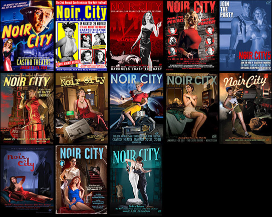 Noir City Poster Package