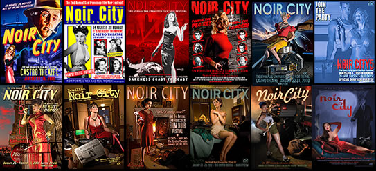 The Film Noir Foundation's annual NOIR CITY film noir festival in San Francisco